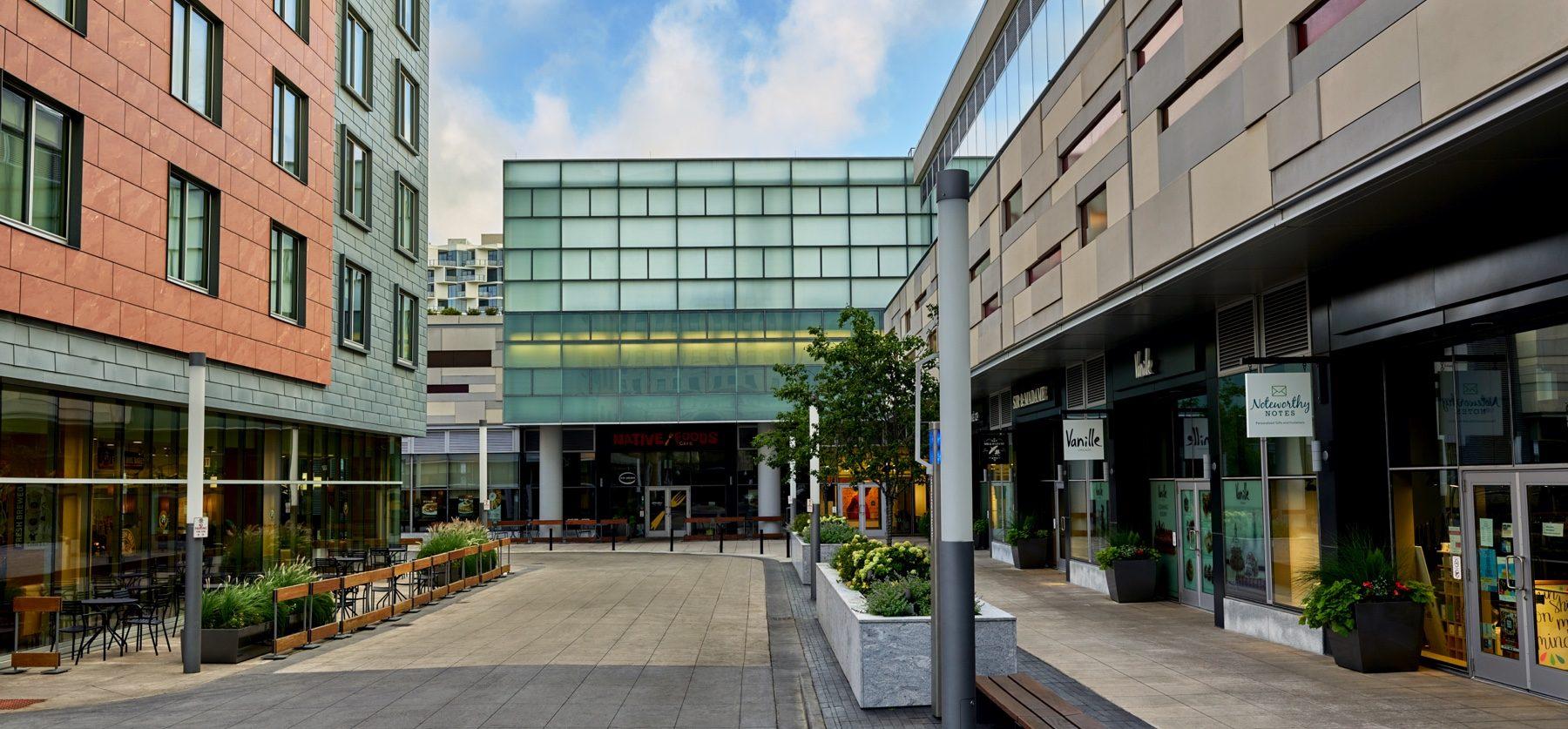 Harper Court Businesses built by Vermilion