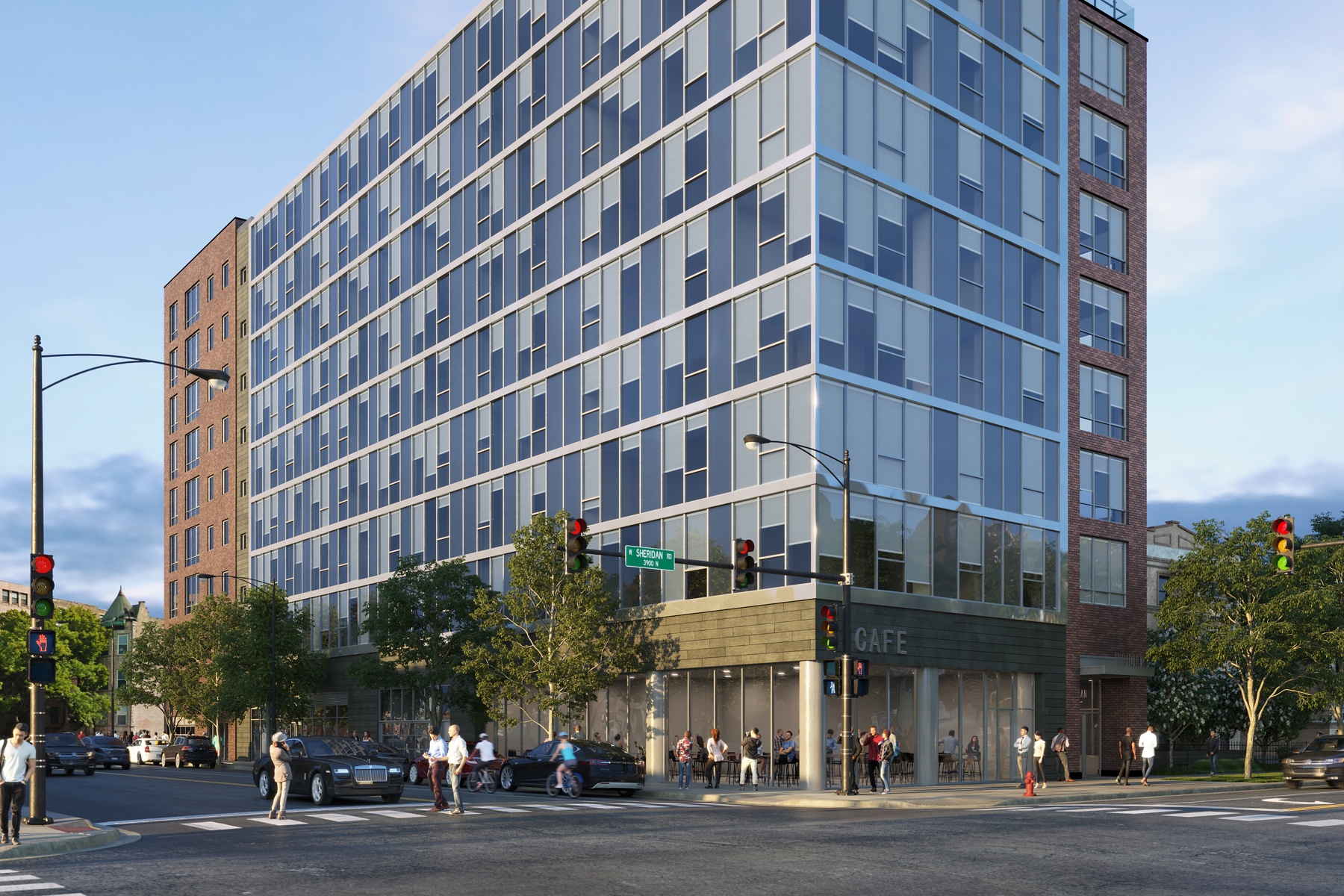 Viridian on Sheridan Luxury Apartment Built By Vermilion