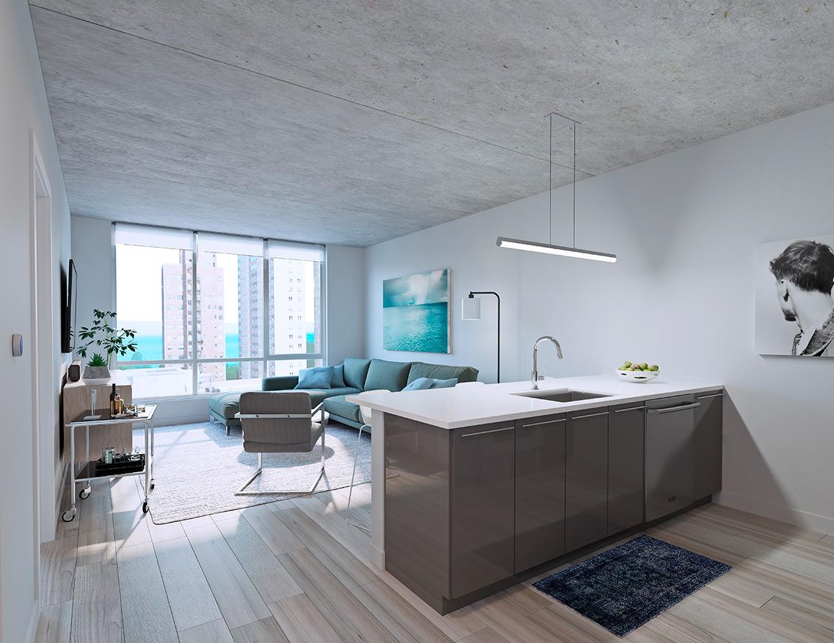 Vermillion Development Interior View of Luxury Apartment